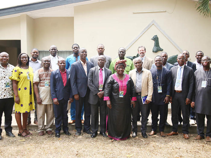 Participants who participated in the workshop